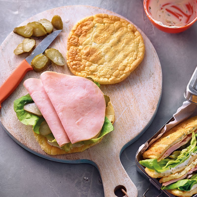 Foto Cloud-Bread-Sandwich von WW