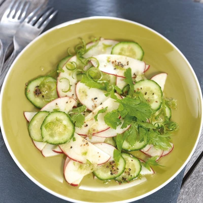 Foto Gurken-Apfel-Salat mit Ingwerdressing von WW