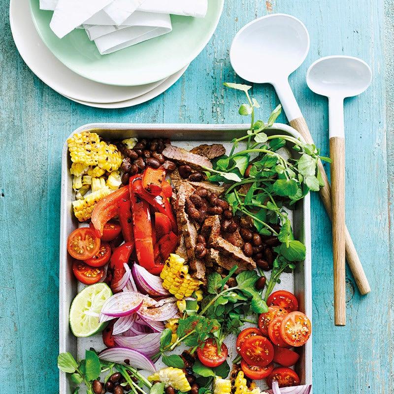 Foto Bunter Steak-Bohnen-Salat von WW