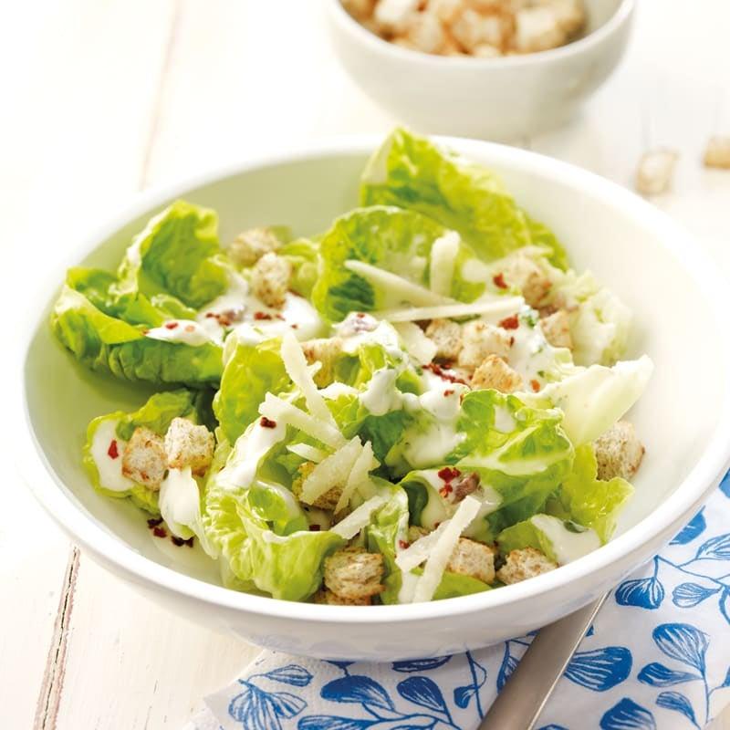 Foto Caesar's Salad mit Croûtons von WW