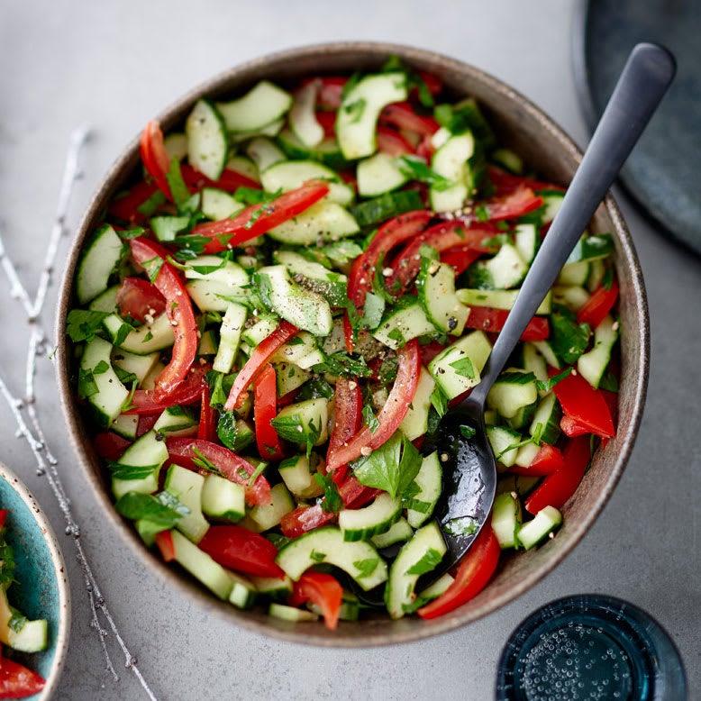 Foto Gurken-Tomaten-Salat von WW