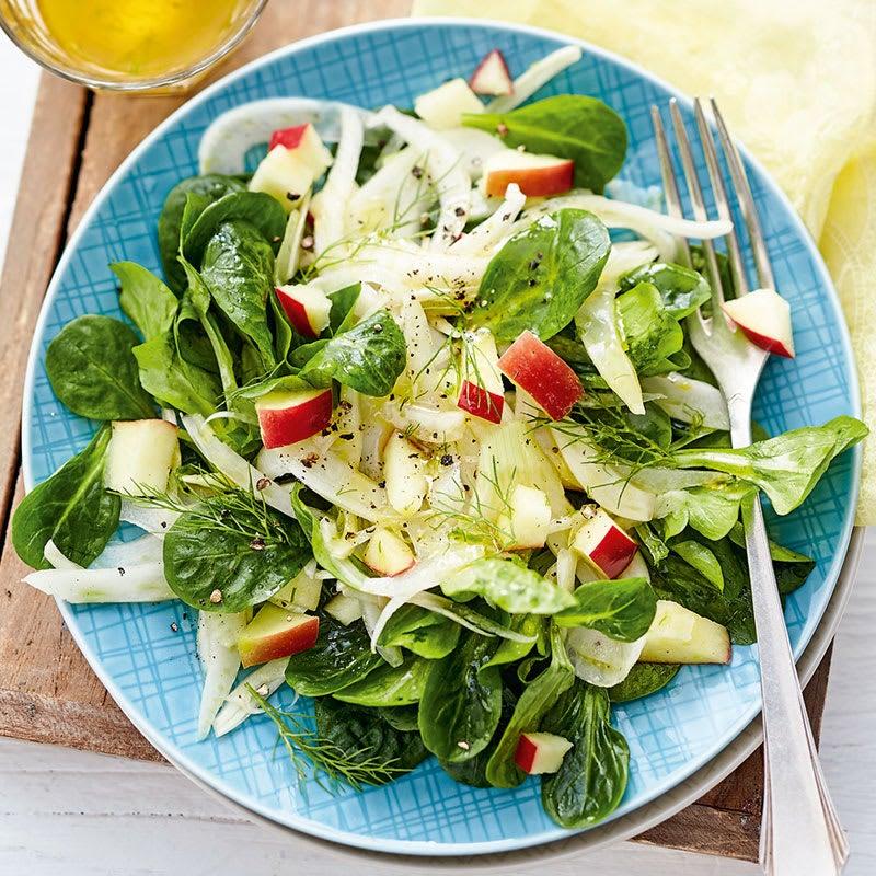 Foto Fruchtiger Fenchel-Apfel-Salat von WW