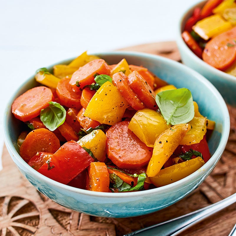 Foto Karamellisierter Paprika-Karotten-Salat von WW