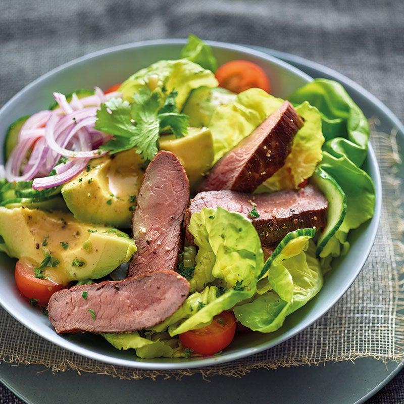 Foto Steak-Avocado-Salat von WW
