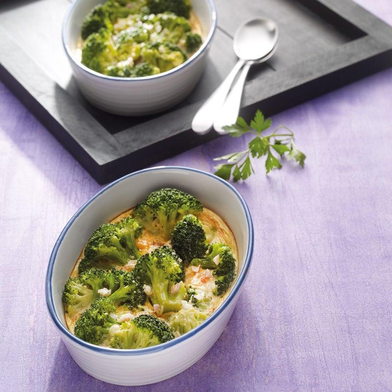 Foto Broccoli-Eier-Snack aus dem Ofen von WW