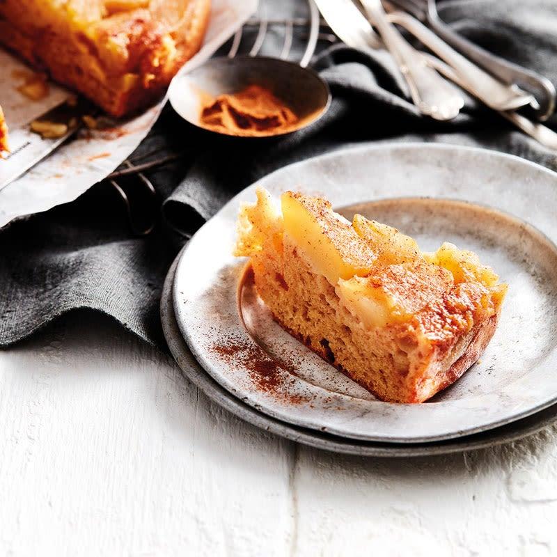 Foto Gestürzter Apfel-Zimt-Kuchen von WW