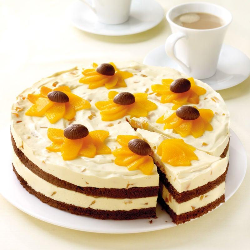 Foto Buttermilch-Pfirsich-Torte von WW