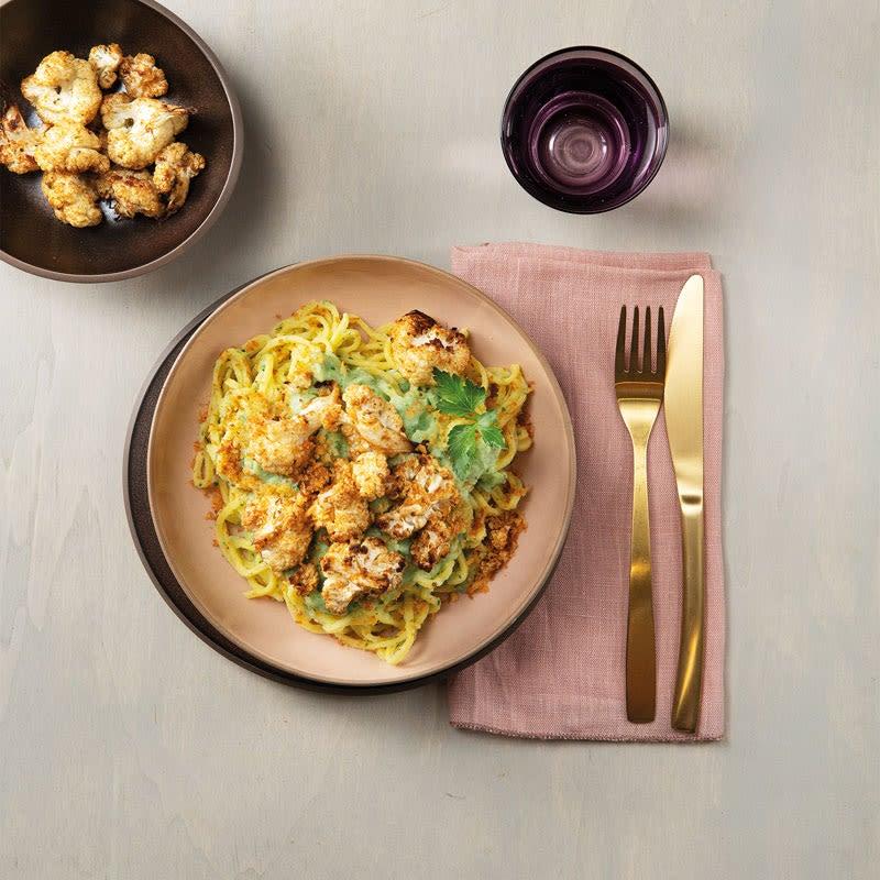 Foto Spaghetti alla Chitarra mit Blumenkohl und Pankobröseln von WW