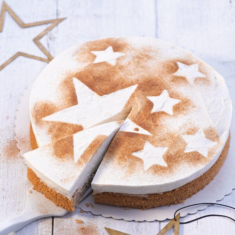 Foto Zimtstern-Creme-Torte von WW