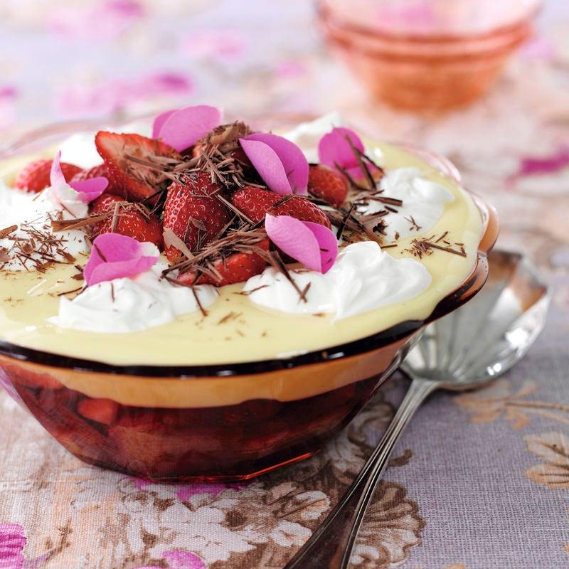 Foto Erdbeer-Trifle Deluxe von WW