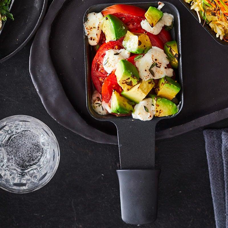 Foto Avocado-Ziegenfrischkäse-Raclette von WW