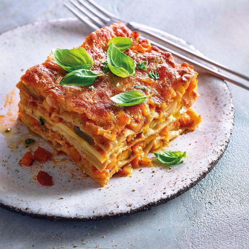 Foto Zucchini-Ziegenkäse-Lasagne von WW