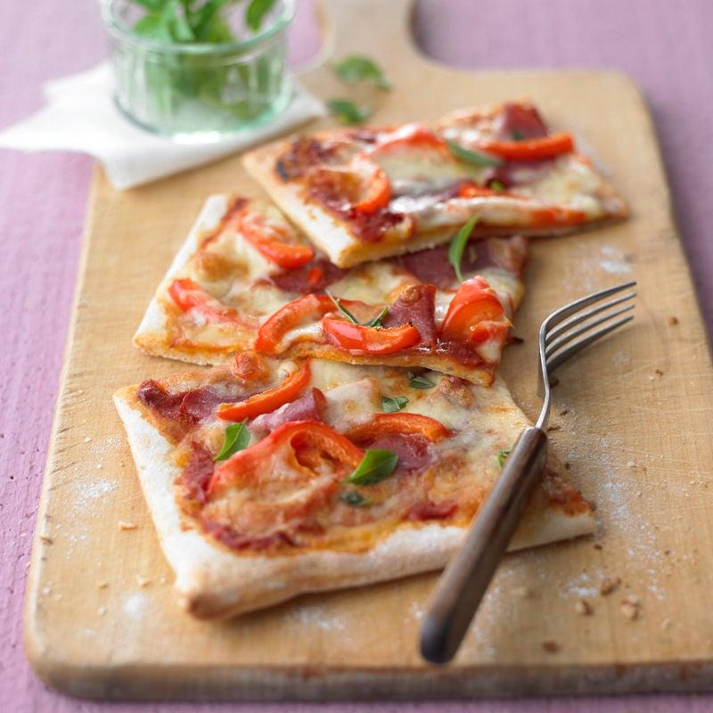 Foto Pizza Salami von WW