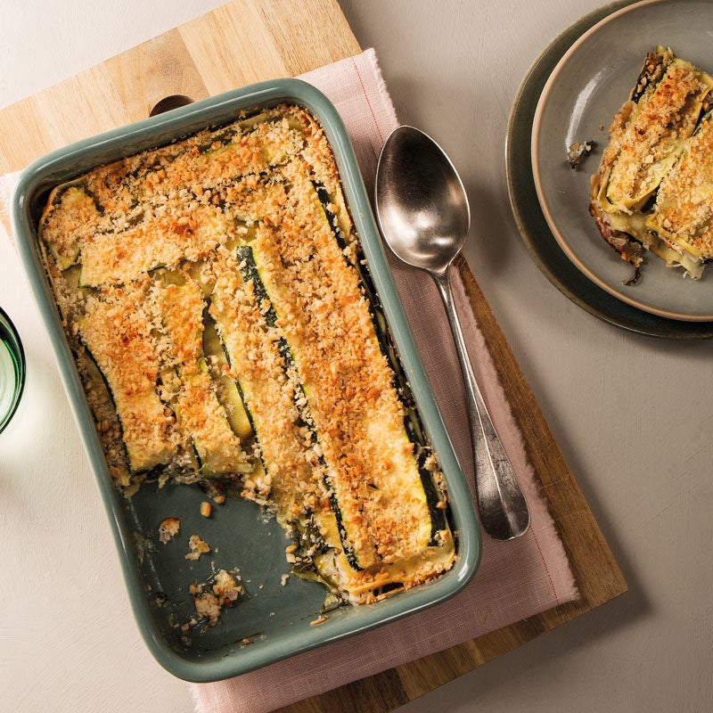 Foto Grüne Lasagne mit Cashewkruste von WW
