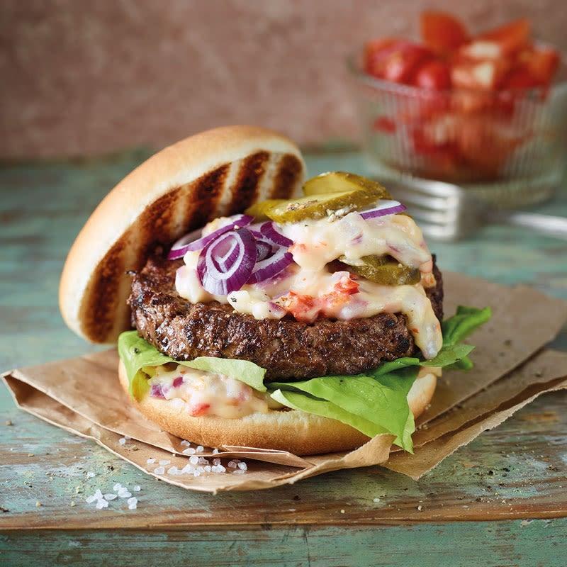 Foto Chili-Cheese-Burger von WW