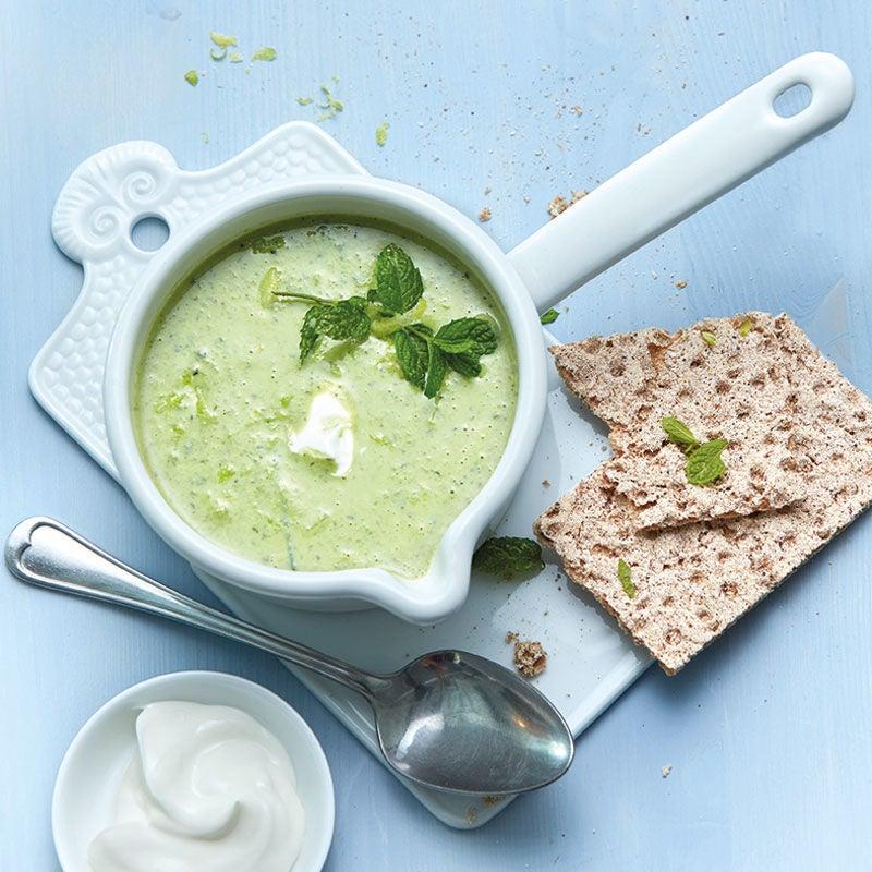 Foto Erbsen-Joghurt-Suppe mit Minze von WW
