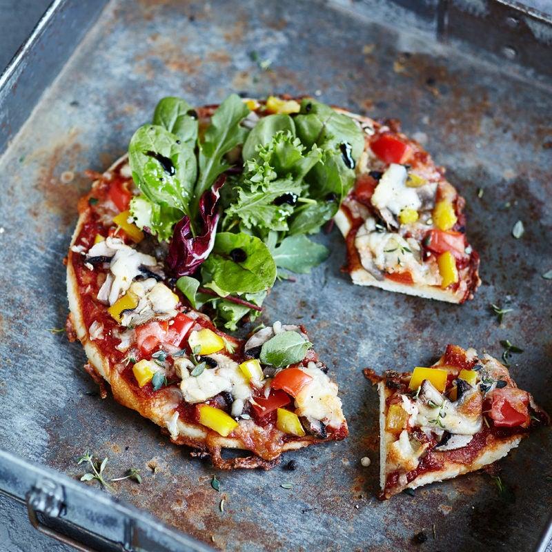 Foto WW Salatpizza von WW