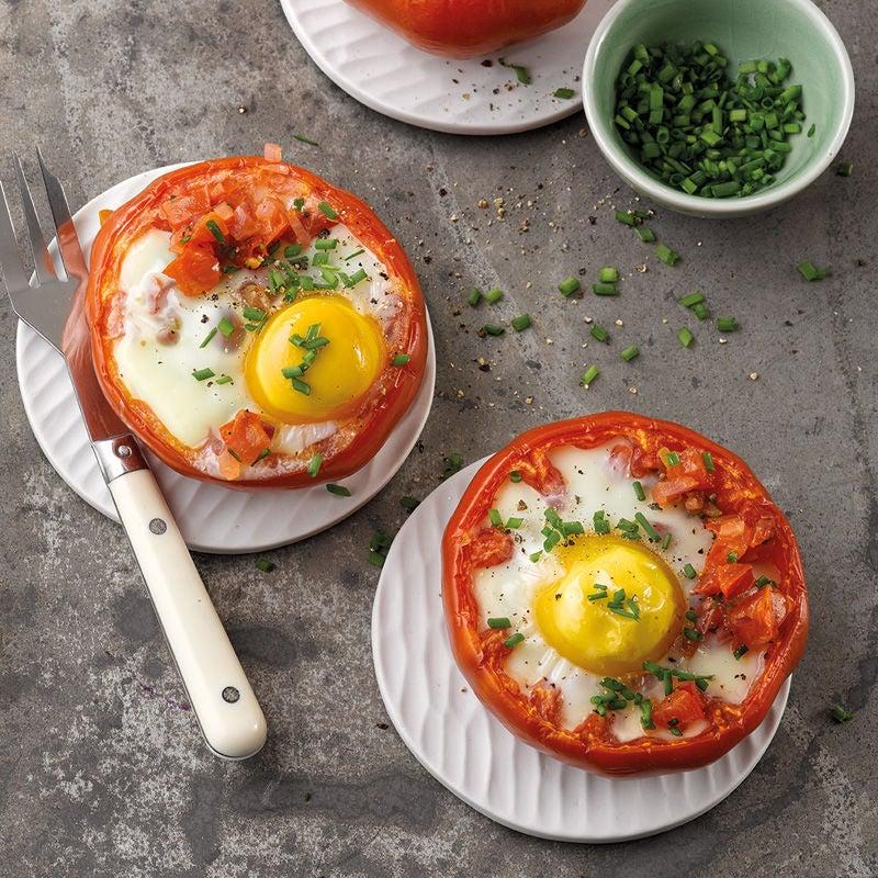 Foto Gefüllte Tomaten mit Ei von WW