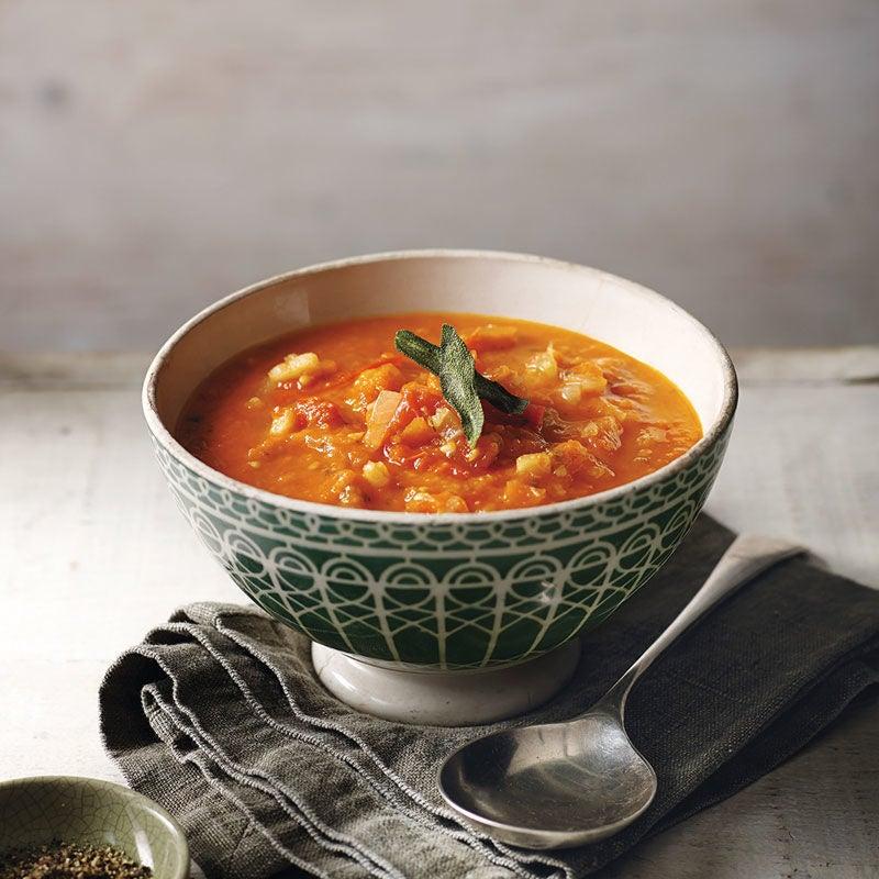 Foto Tomaten-Gemüse-Suppe von WW