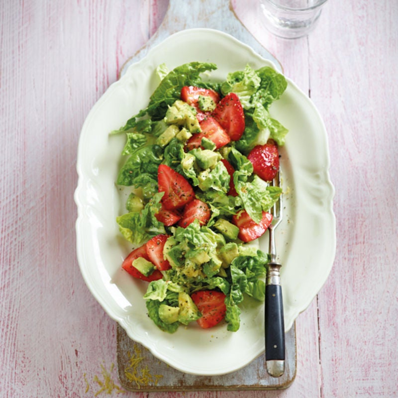 Foto Avocado-Erdbeer-Salat von WW
