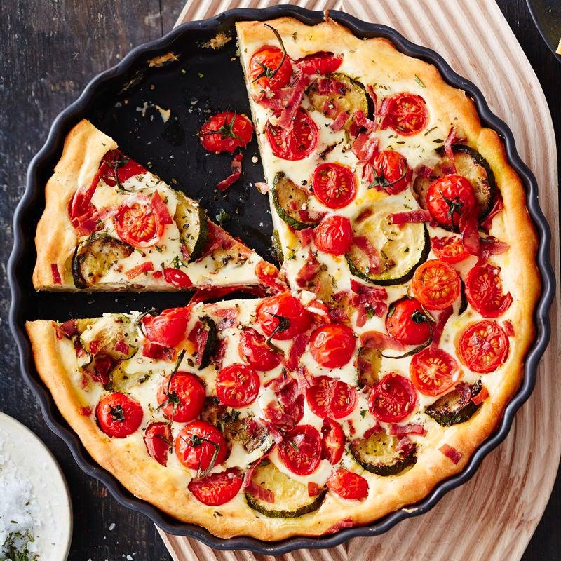 Foto Tomaten-Zucchini-Tarte von WW