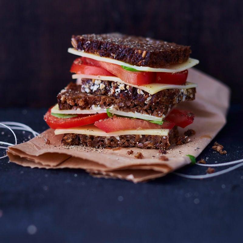 Foto Tomaten-Käse-Brot von WW