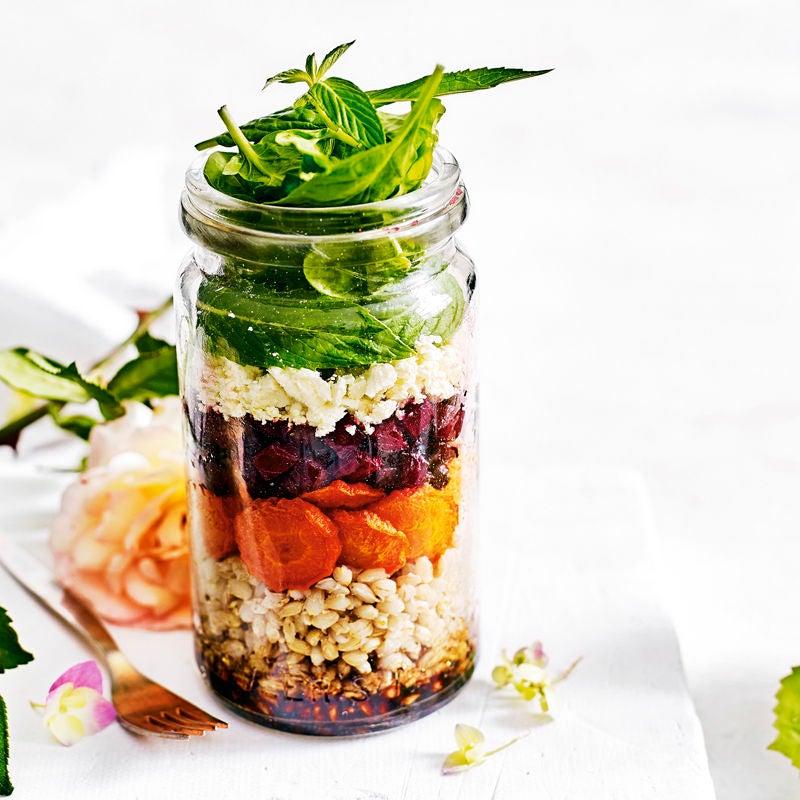 Foto Salat mit Röstgemüse von WW