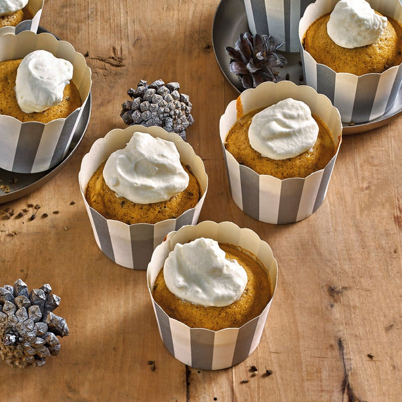 Foto Eiserkuchen-Muffins mit Sahnehaube von WW