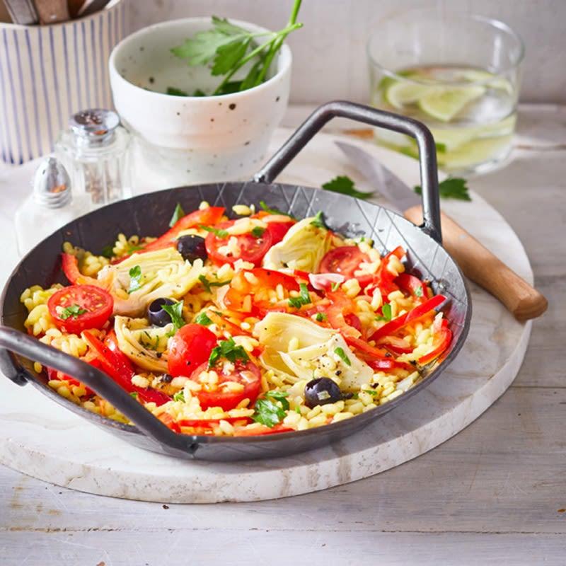 Foto Vegetarische Paella von WW