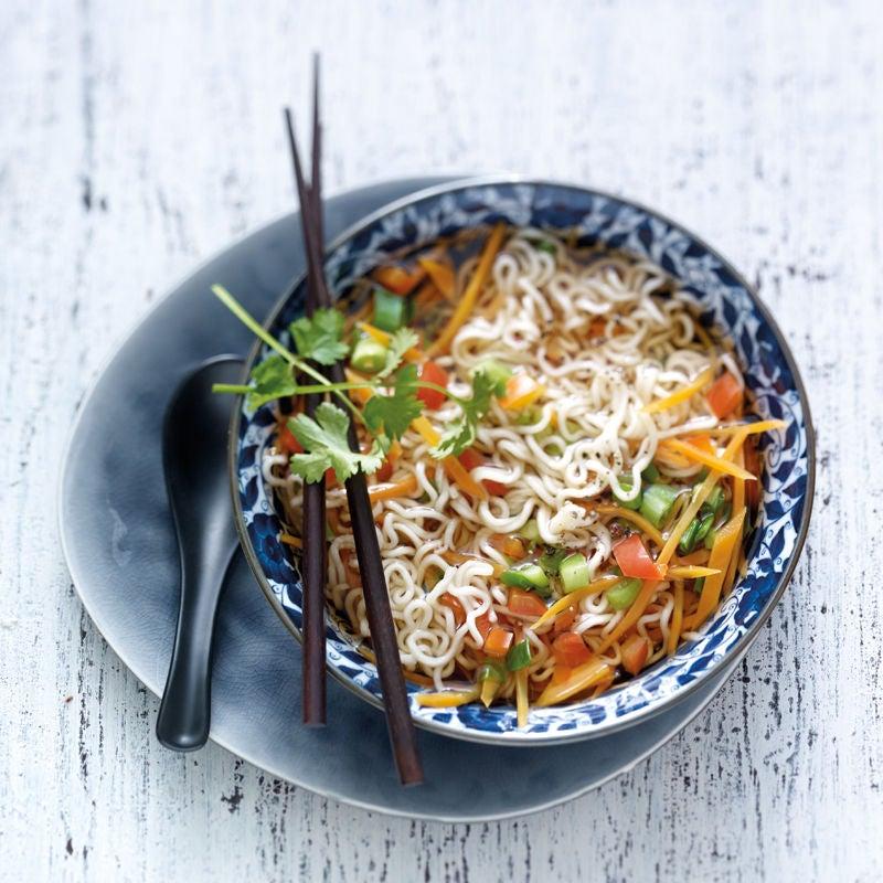 Foto Schnelle Asia-Nudel-Suppe von WW