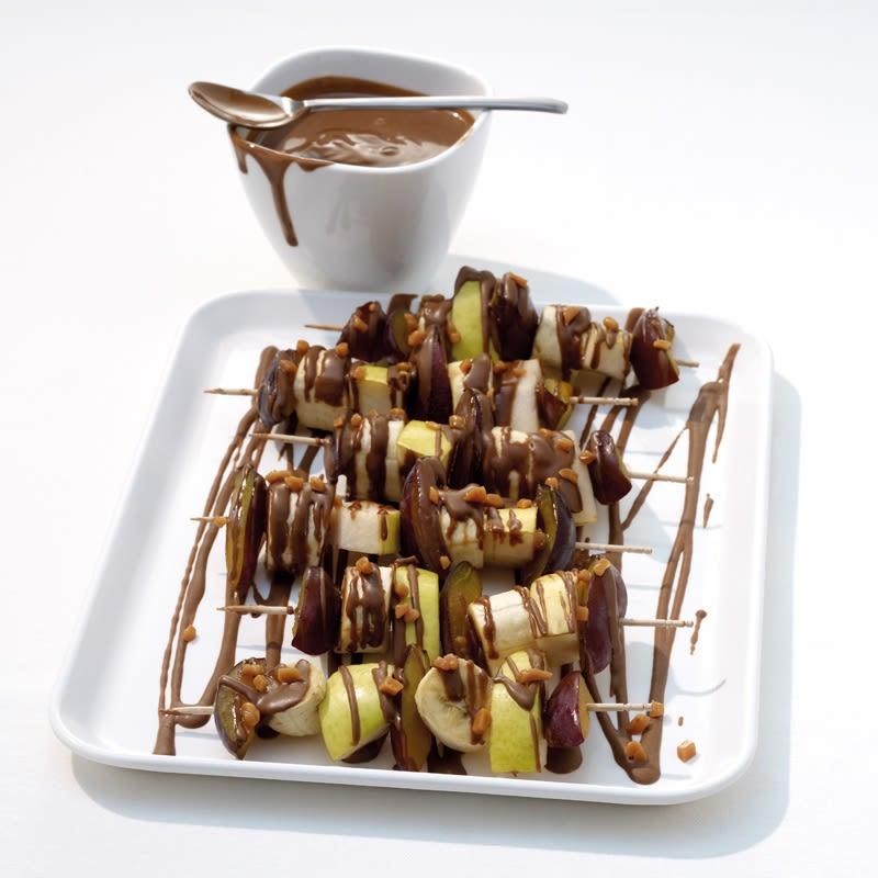 Foto Schokoladen-Obst-Spieße von WW