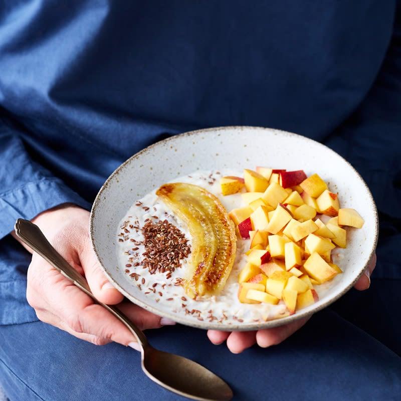 Foto Porridge mit Nektarine von WW