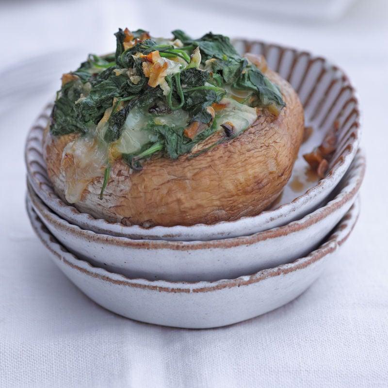 Foto Gefüllte Champignons mit Spinat von WW