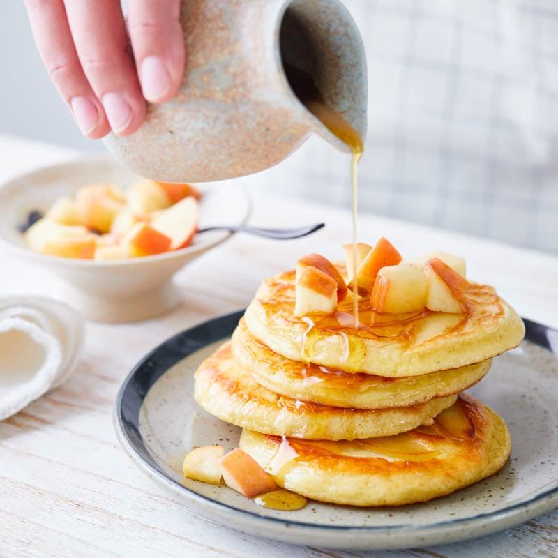 Foto Apfel-Pancakes von WW