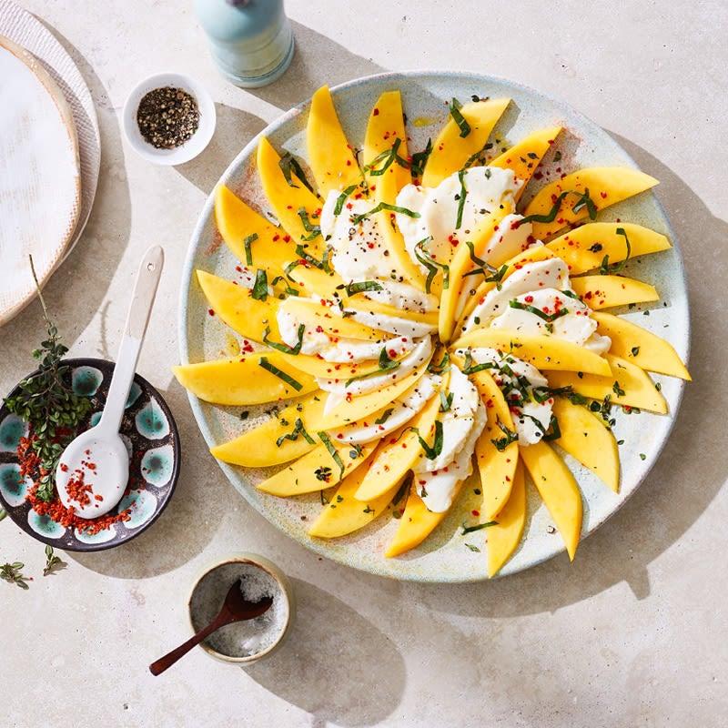 Foto Mozzarella-Mango-Salat von WW