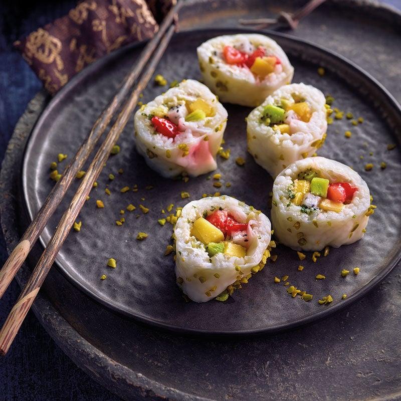 Foto Fruchtiges Sushi von WW