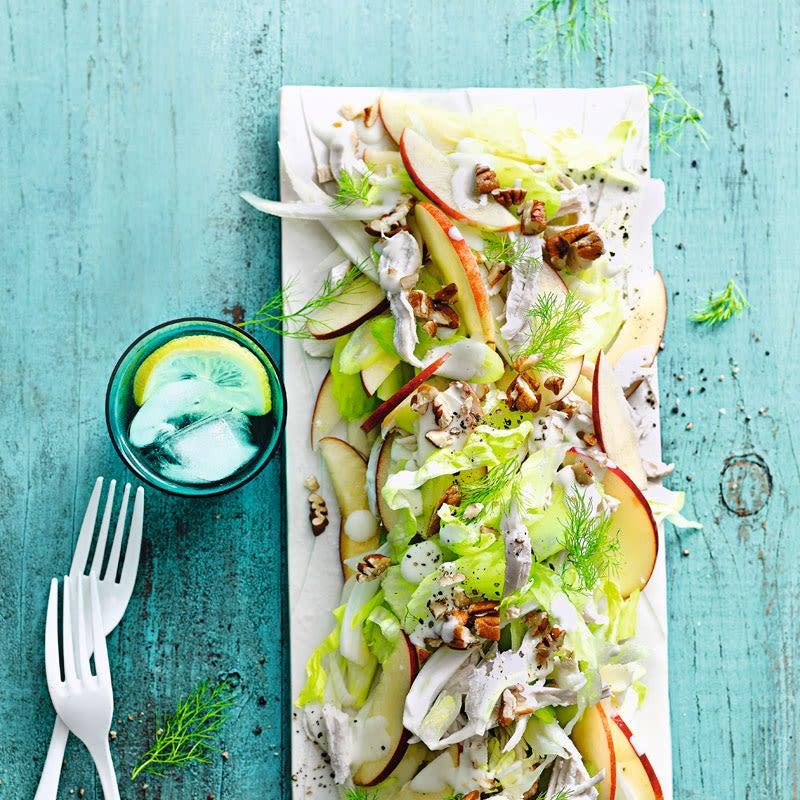 Foto Ingwerhähnchen-Salat von WW