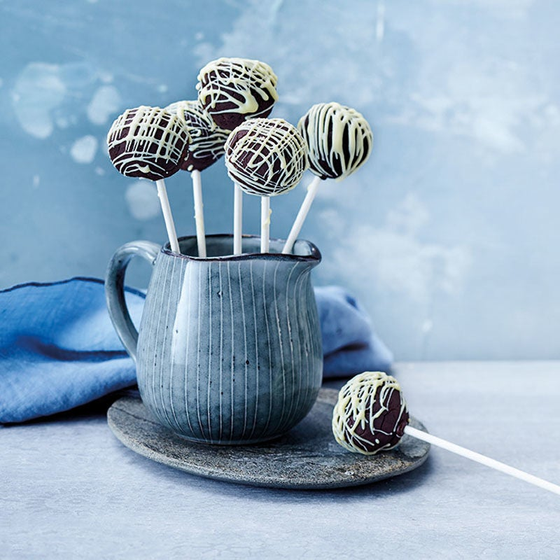 Foto Black & White Cake Pops von WW