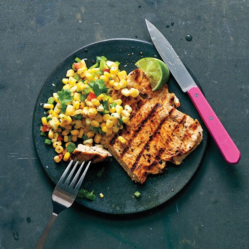 Foto Tex-Mex-Putenschnitzel mit Maissalat von WW