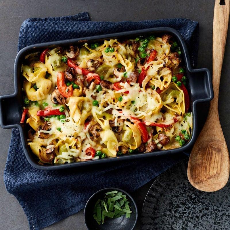 Foto Gemüse-Tortellini-Gratin von WW