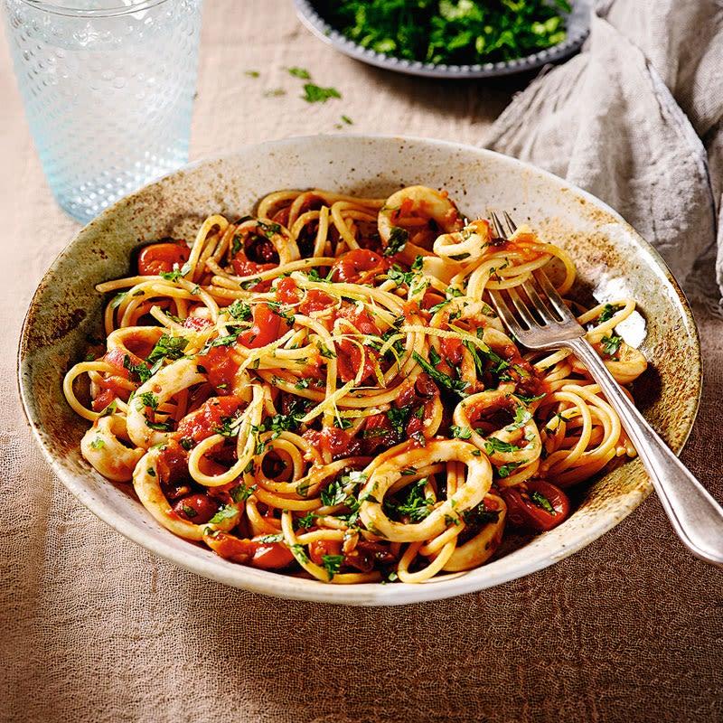 Foto Spaghetti arrabiata al Mare von WW