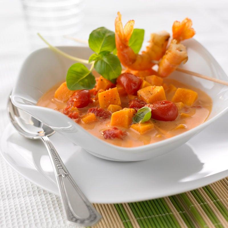 Foto Süßkartoffel-Kokos-Suppe von WW
