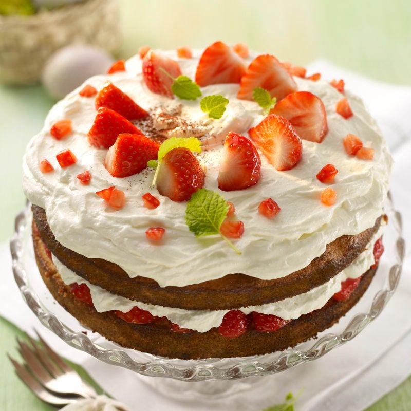 Foto Erdbeer-Frischkäse-Torte von WW