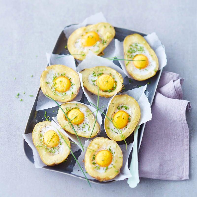 Foto Gefüllte Kartoffeln mit Ei von WW