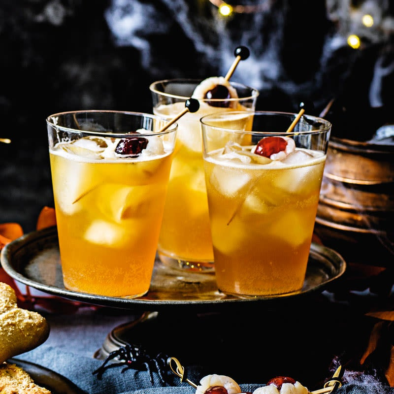 Foto Dark 'n' Stormy Halloweencocktail von WW