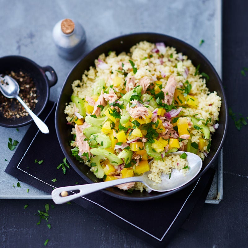 Foto Thunfisch-Couscous-Salat von WW