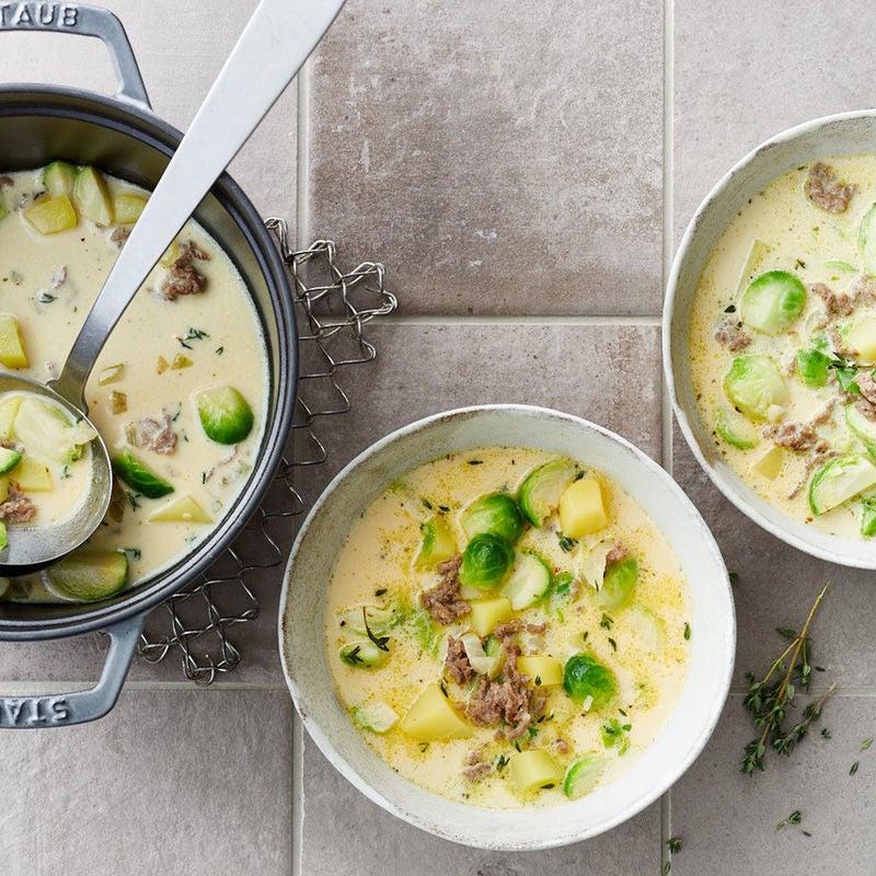 Foto Rosenkohl-Tatar-Suppe von WW