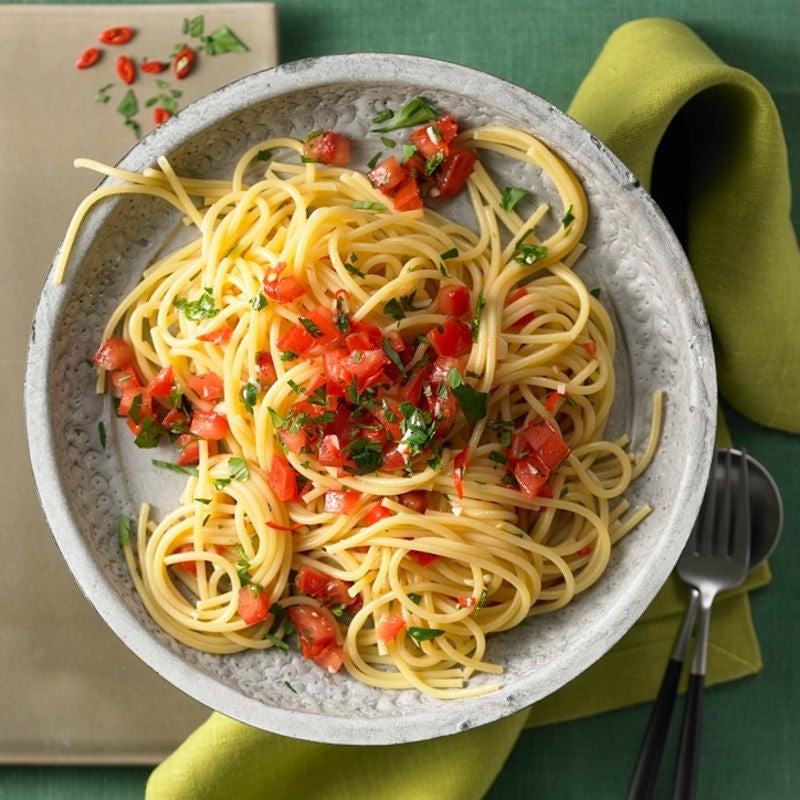 Foto Spaghetti aglio e olio von WW