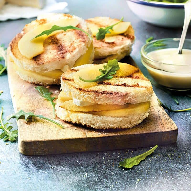 """Foto Sandwich """"Croque Normand"""" von WW"""