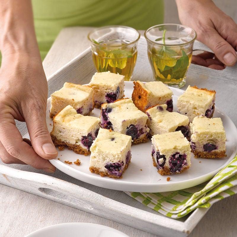 Foto Heidelbeer-Cheesecake-Bites von WW
